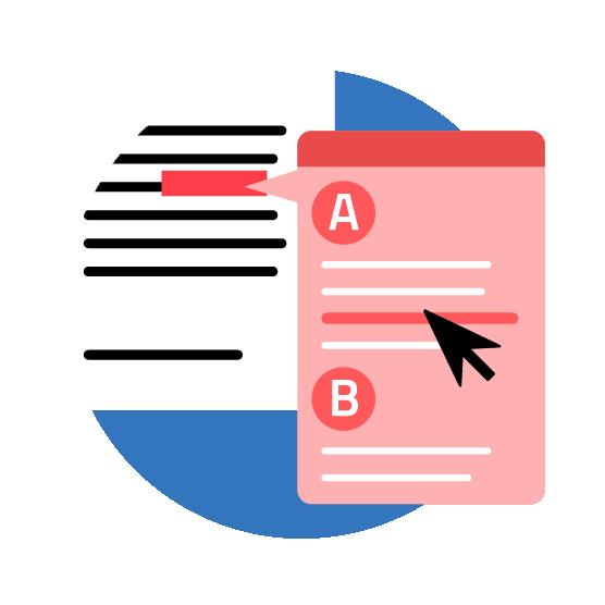 Übersetzungsspeicher Terminologieliste Illustration
